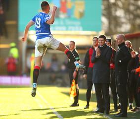 2019 Scottish Premiership Football Motherwell v Rangers Dec 15th