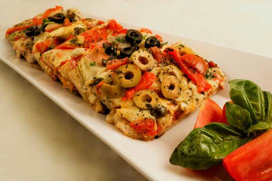 Pizza aceitunas