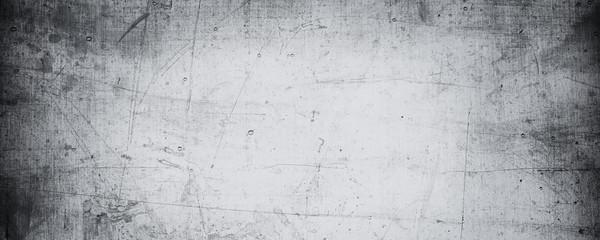 Foto op Canvas Betonbehang scratched concrete background texture.