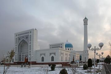 Minor mosque in Tashkent, Uzbekistan