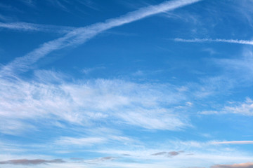 Fototapeta  blue sky and white clouds obraz