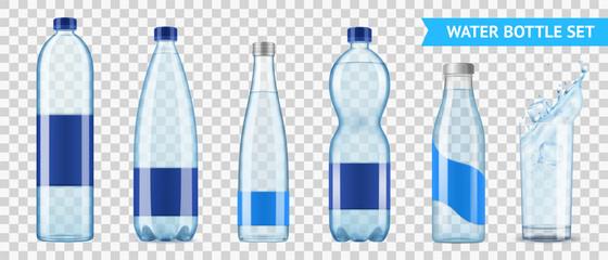 Mineral Water Bottles Set