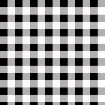 Twill black and white buffalo plaid pattern backgrounds