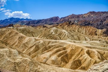Colorful hills in Death Valley, USA