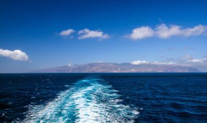 Foto op Canvas Canarische Eilanden navigazione alle isole canarie