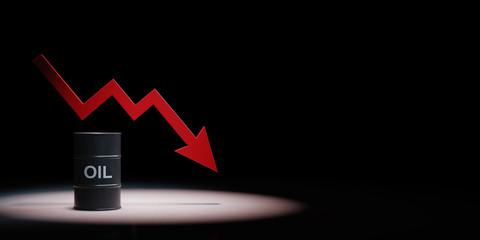 Oil Price Crisis Concept Illustration