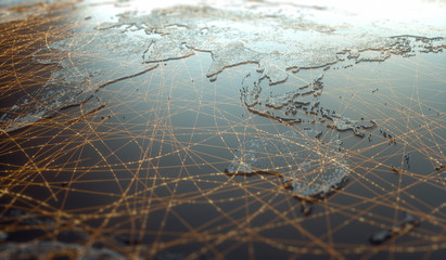 Asia Oceania Digital Technology Connectivity World Wide Web