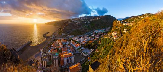 Town Ribeira Brava - Madeira Portugal Fototapete
