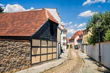 Fotomurales - naumburg, deutschland - pittoreske gasse in der altstadt