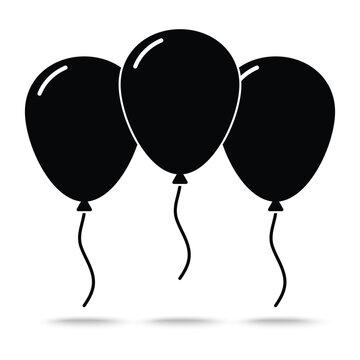 ballons icon vector
