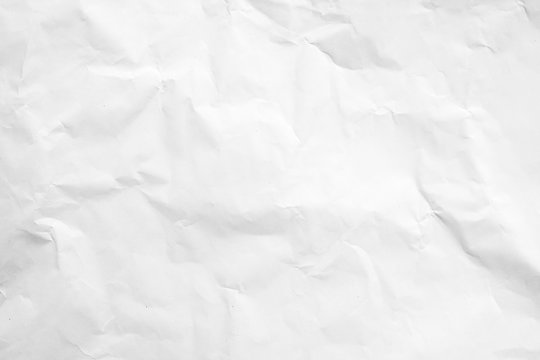 White wrinkle recycle paper background
