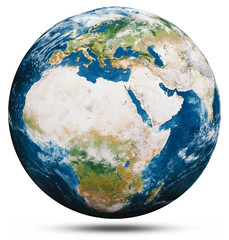 Wall Mural - Planet Earth globe isolated