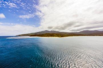 Vanuatu, Mystery Island, south pacific Fotobehang