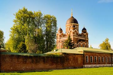 Borodino Monastery landscape view, Moscow region, Russia