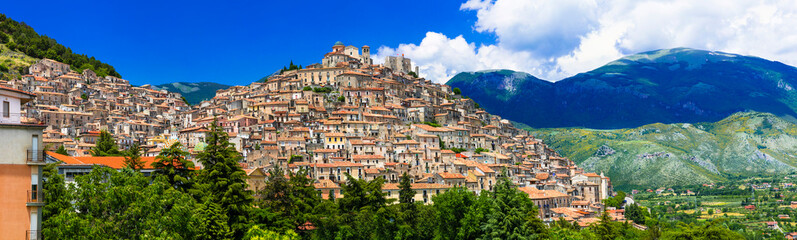 Most beautiful medieval villages (borgo) of Italy - Morano Calabro in Calabria, Italy