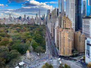 Spoed Foto op Canvas New York Central Park South - New York City