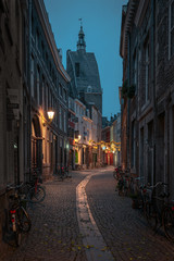 Narrow street in Maastricht