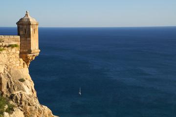 Blick von der Festung Alicante