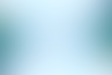 blue light gradient / background smooth blue blurred abstract Wall mural
