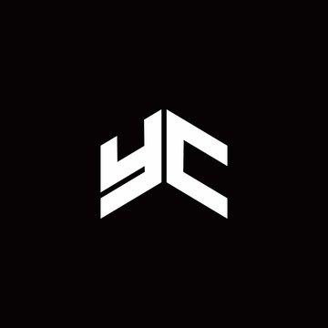 YC Logo monogram modern design template