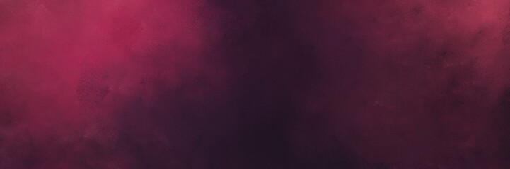 abstract painting background texture with very dark violet, dark moderate pink and very dark pink colors and space for text or image. can be used as header or banner Fototapete