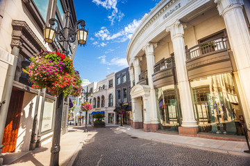Versace shop on Rodeo Drive California