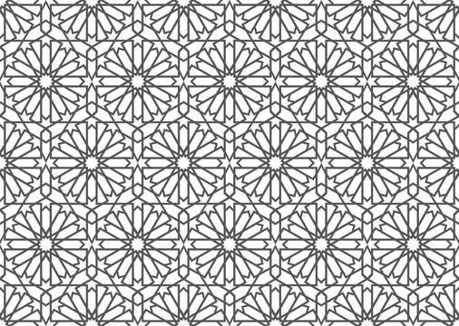 Islamic Pattern Art Ornament  Background