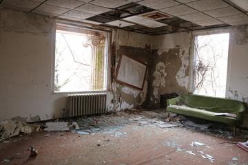 Abandoned mental asylum psychiatric hospital