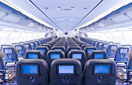 Flugzeug Bestuhlung
