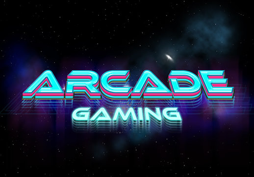 Retro Game Text Effect