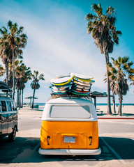 Venice Beach Surf Van, Los Angeles, California