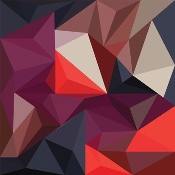Geometric mural art. Triangle geometric wall mural vector design. Modern and colorful abstract background for print, wall art, mural, banner, poster, etc.