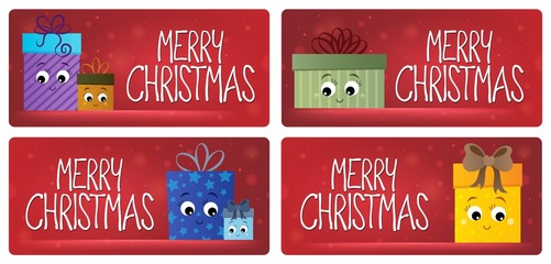 Acrylic Prints For Kids Merry Christmas theme cards 3