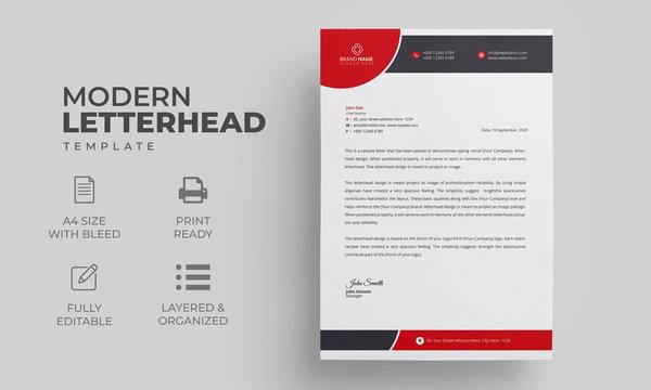 Letterhead Design for your business