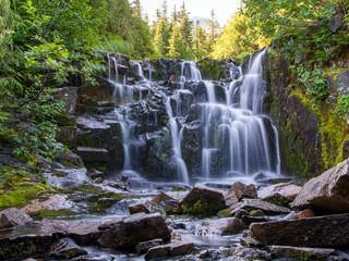 Waterfall at Mount Ranier National Park in Washington State