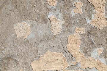 Foto auf AluDibond Alte schmutzig texturierte wand Wall with old crumbling plaster as background
