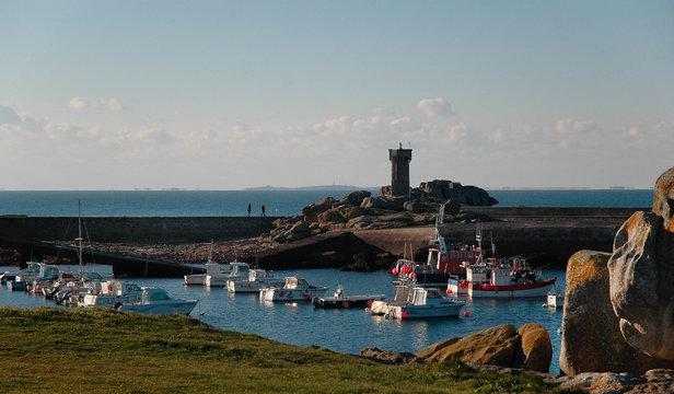 le port de Trévignon