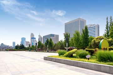 Jinan Cityscape, China