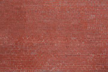 High resolution red bricks wall background