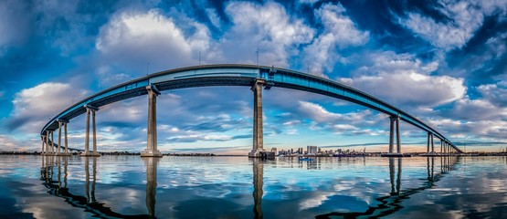 Acrylic Prints Bridges Coronado Bridge