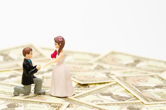 結婚の費用 (フィギュア・人形)