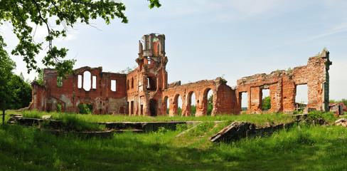 Ruinen vom Graf Haus Tereshtschenko in Schytomyr, Ukraine