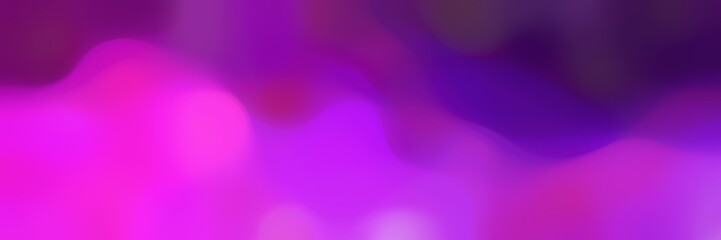 soft blurred horizontal background with medium orchid, indigo and purple colors and free text space