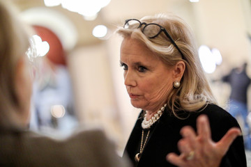 U.S. Rep. Debbie Dingell speaks about Trump comments at the U.S. Capitol in Washington