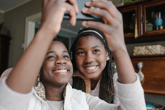 Two Teen Black Girls