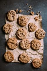 Chocolate chips homemade cookies