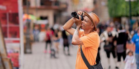 senior photographer traveling the world