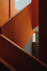 Orange Staircase Detail