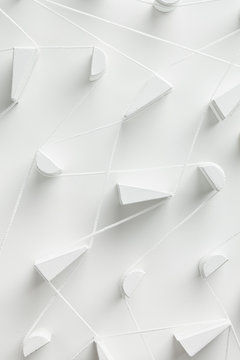 White threads in connection