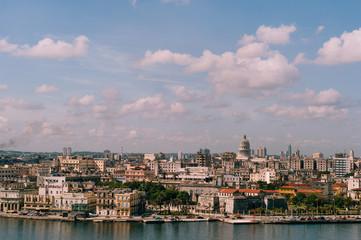 Havana Cityscape Shot from Above